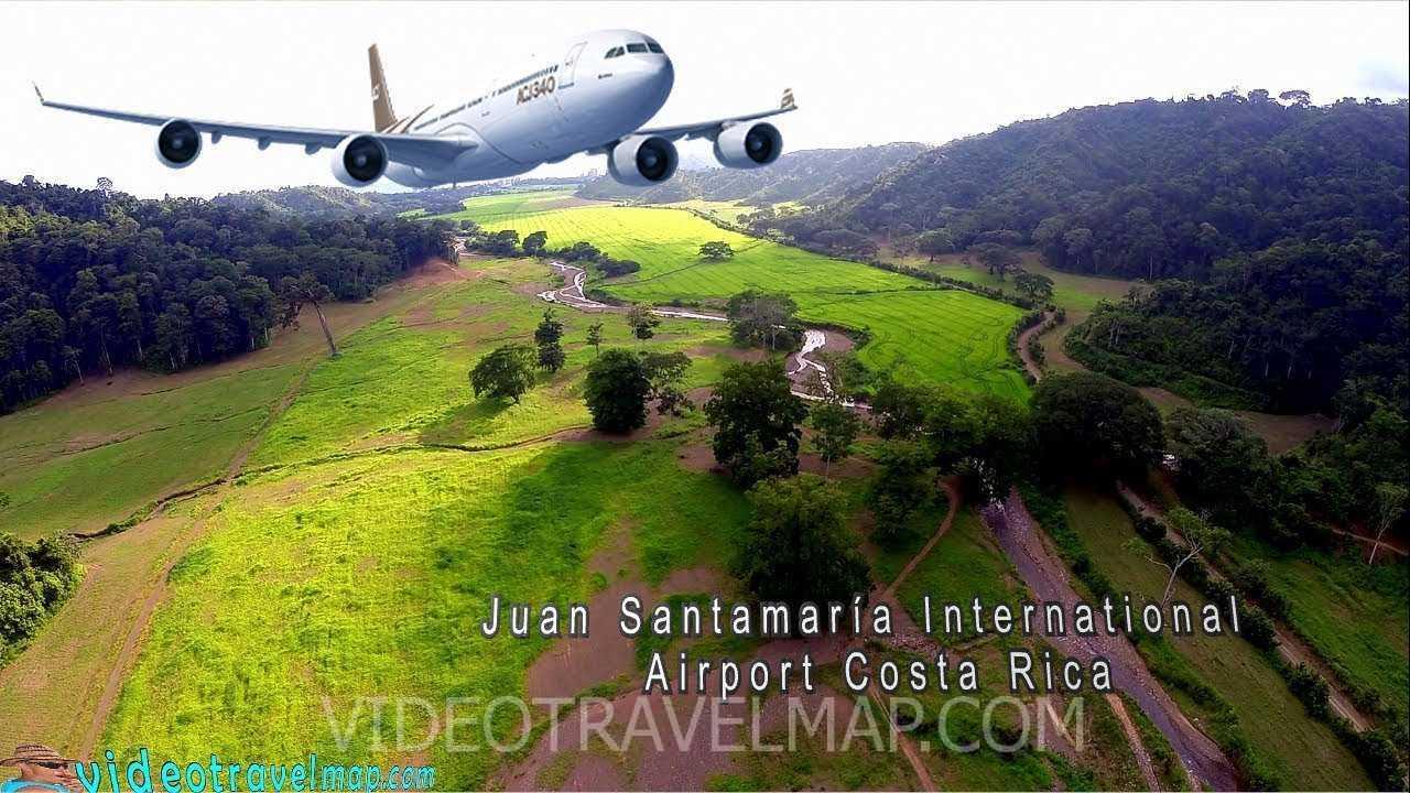 Lotnisko Juan Santamaria na Kostaryce