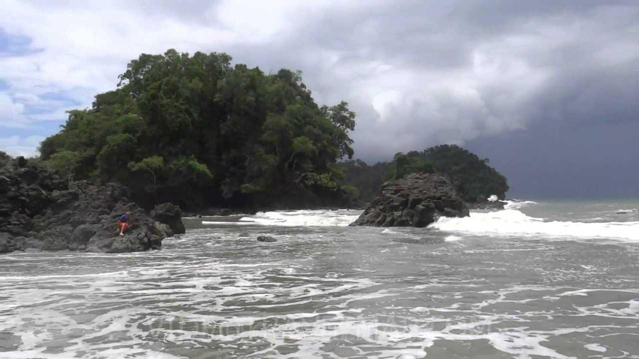 Plaża w Manuel Antonio Kostaryka