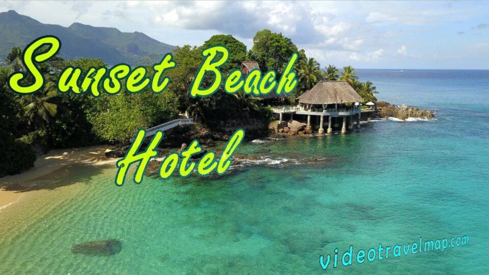 Spacer Dookoła Hotelu Sunset Beach Seszele