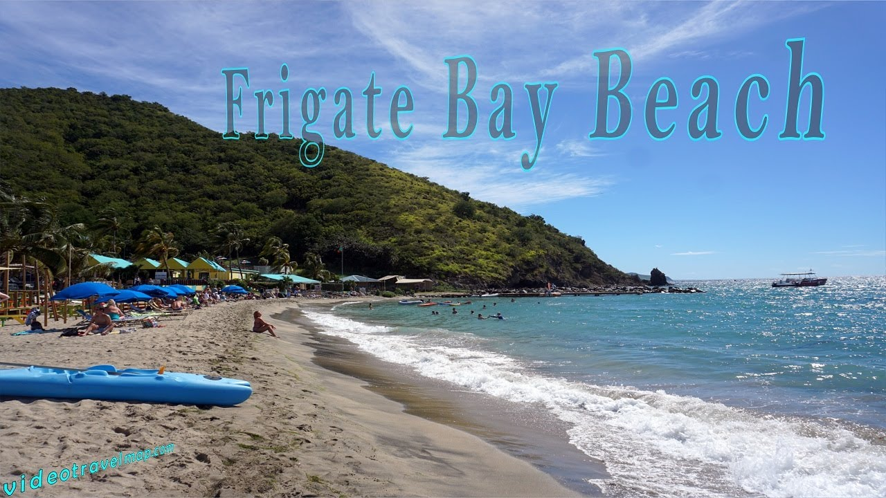 Plaża Frigate Bay na Saint Kitts