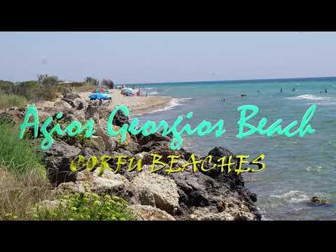Plaże na Korfu – Agios Georgios Beach