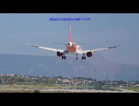 Punkt widokowy lotniska na Korfu