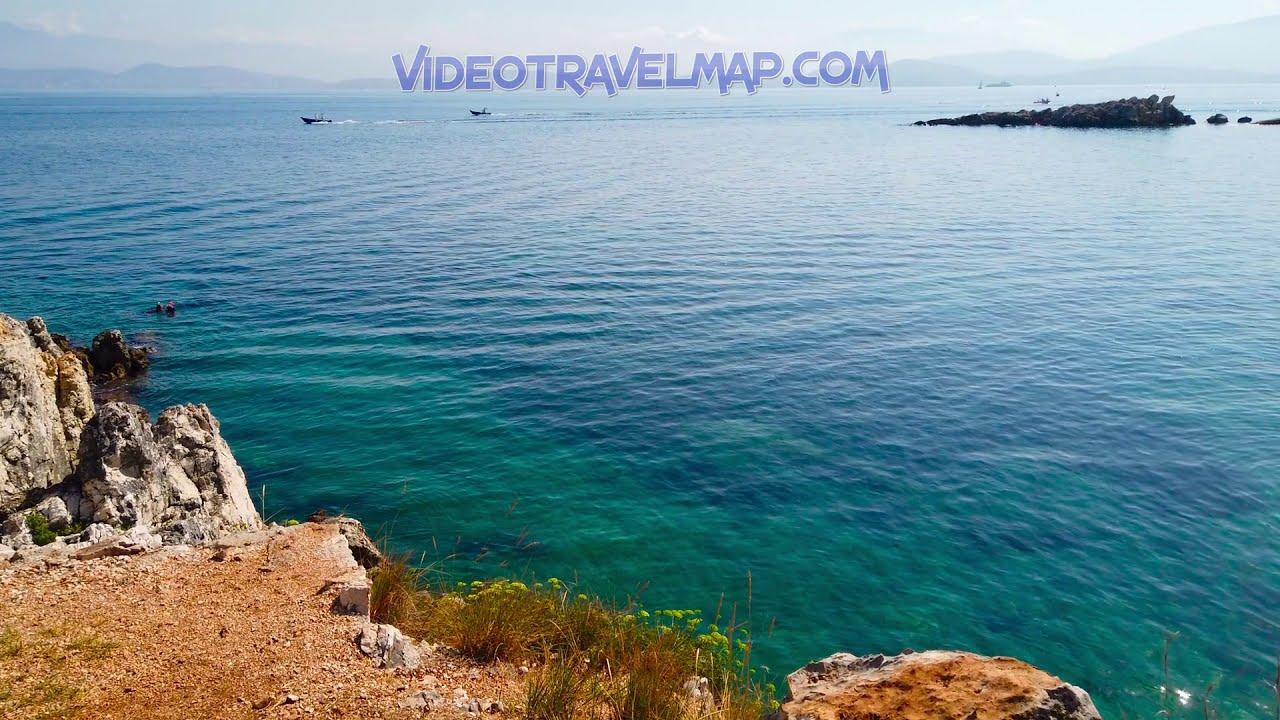 Plaże na Korfu Bataria Beach
