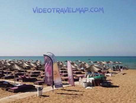 Plaże na Korfu Marathias Beach