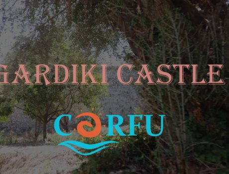 Ruiny zamku Gardiki na Korfu