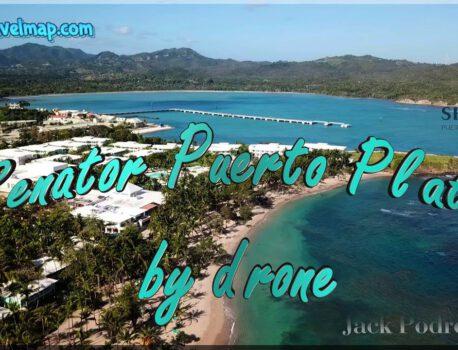 Senator Puerto Plata Spa Resort z drona