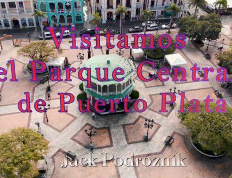 Krótka wizyta w parku centralnym Puerto Plata