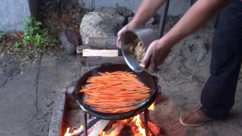 Gotujemy Uzbecki Pilaw