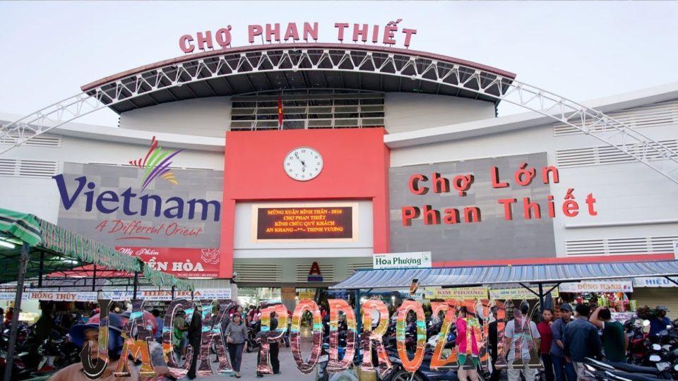 Targowisko miejskie w Phú Thủy Phan Thiet