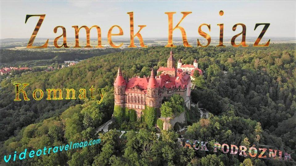 Zwiedzanie Komnat Zamku Książ